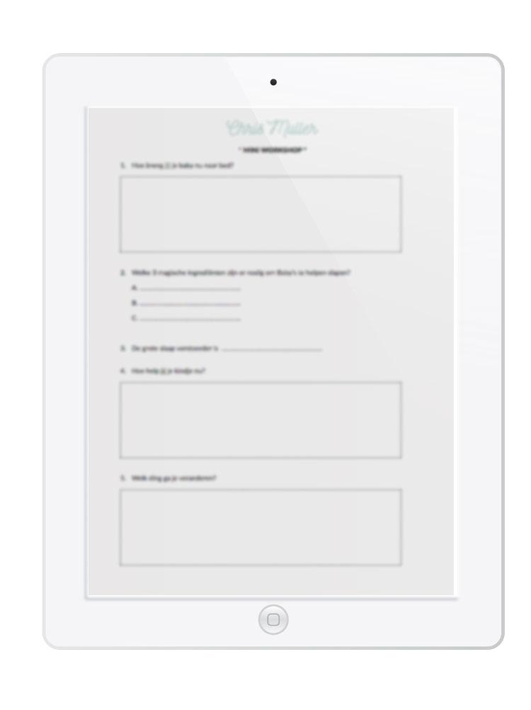 img white ipad with worksheet chris. Black Bedroom Furniture Sets. Home Design Ideas