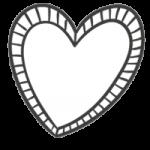 heart black white Mama-opvoed-ondersteuning-baby