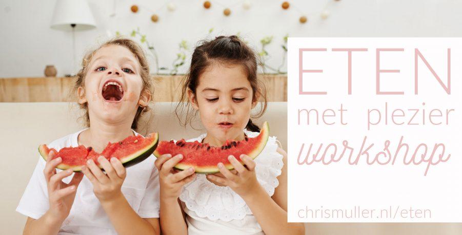 workshop kinderen eten met plezier chris muller